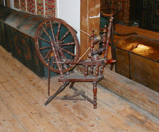 The Spinning Wheel Goes Round and Round