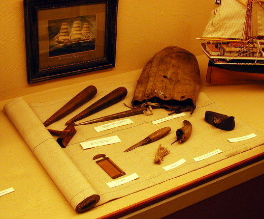 Marlinespike tools from the 1800′s • They would be right at home today in a Riggers Bag.