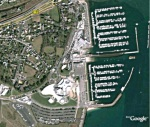 The Marina in Brest – 1,400 Boats in the Marina – Also a large sailing complex and Oceanopolis Marine Center