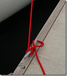 How to tie a cleat - Step 3 - Weather Hitch