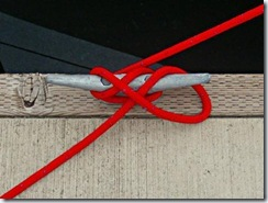 How to tie a cleat - Step 3 B - Weather Hitch