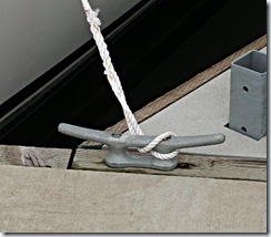 Dock cleat - mooring cleat