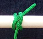 spar hitch fender knot