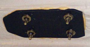 Fiberglass Cleat Backing Plate - Bedding Deck Hardware