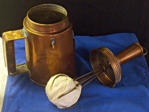 Flare Pot - US Coast Guard Museum - Seattle