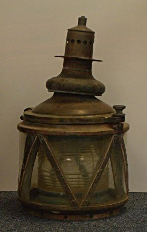 Gas ATON Light - US Coast Guard Museum - Seattle