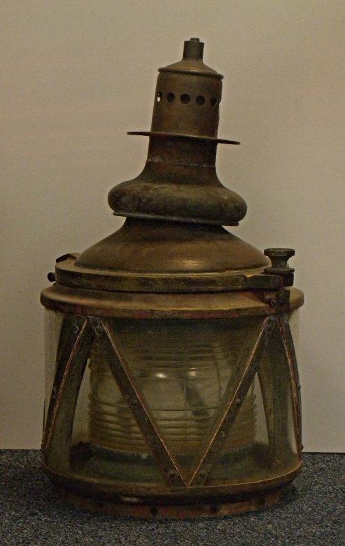 Gas ATON Light - US Coast Guard Museum - Seattle