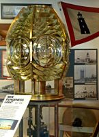 New Dungeness Light - US Coast Guard Museum - Seattle