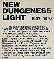 New Dungeness Light Text - US Coast Guard Museum - Seattle