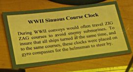 Sinuous Course Clock - US Coast Guard Museum - Seattle