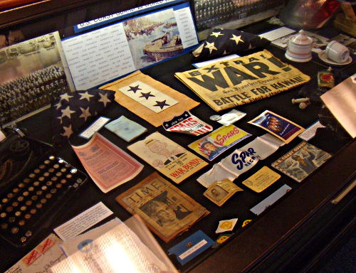 World War II Items - US Coast Guard Museum - Seattle