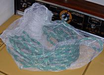 Putting lines in a mesh bag will help keep the lines from getting tangled together