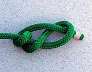 Double Figure Eight Stopper Knot / Stevedore Knot