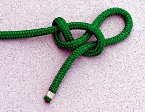 Slippery Figure Eight Stopper Knot