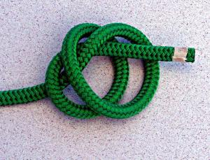 Stopper Knot with Hand Removed