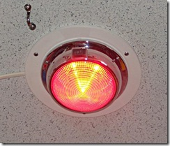 Red LED Cabin Light