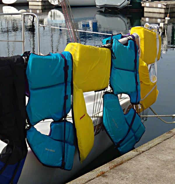 Laundry Day & Washing The Life Jackets  (1/2)