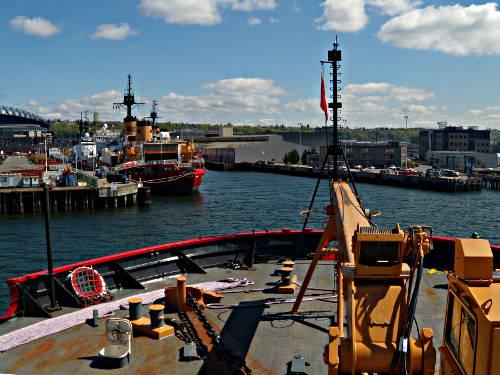 Coast Guard Icebreaker Healy