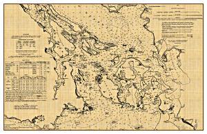 San Juan Islands Chart - 1866