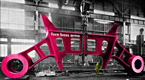 Fore Boss Arms - one of two that held the port and starboard propeller shafts