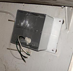 Boat marine electrical enclosure, Electrical Panel