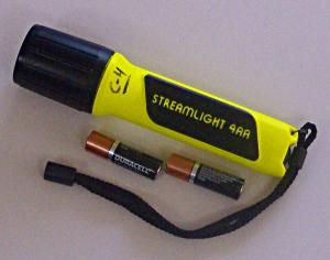 Streamlight 4AA ProPolymerr Lux LED Flashlight