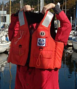 Your Life Jacket needs to be the correct size of it can come off when you need it the most