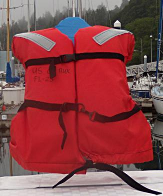 Type I Adult Life Jacket, Vest style
