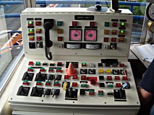Fremont Bridge electrical control panel
