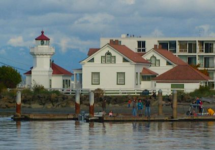 01-The Mukilteo Lighthouse was lighted on March 1, 1906. In 1977 the lighthouse was placed on the National Register of Historic Places. The lighthouse was automated in 1979 and the original Fresnel lens was kept. In 2001 the City of Mukilteo took over ownership of the lighthouse and the area is a city park. The Coast Guard continues to maintain the light to guide mariners.